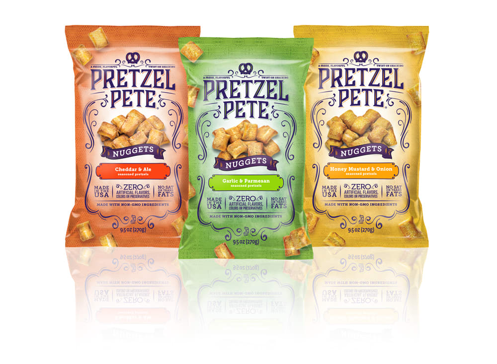 Pretzel Pete Nuggets