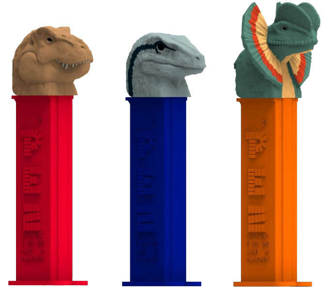 Jurassic World PEZ Assortment